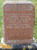 Headstone: Elizabeth Sparks wife of Robert Sparks and daughter Esther