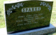 Headstone: James Laird Sparks and his wife Jessie Faulkner