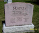 Headstone: James Bradley and his wife Ann Philips