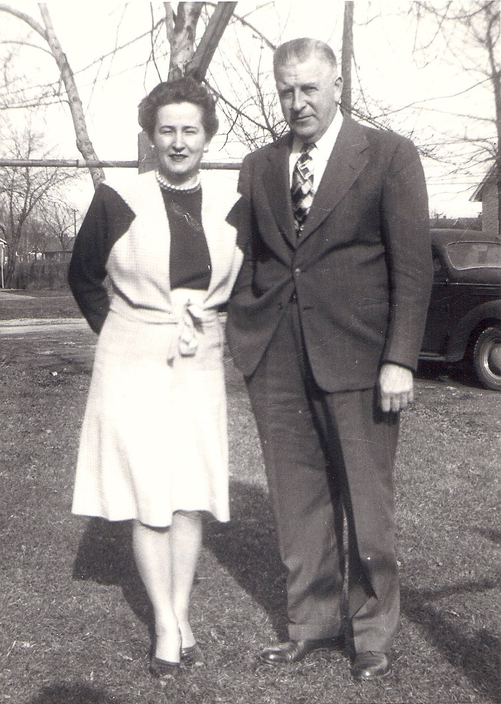 Helena Sparks Owens and Andrew Owens c.1948