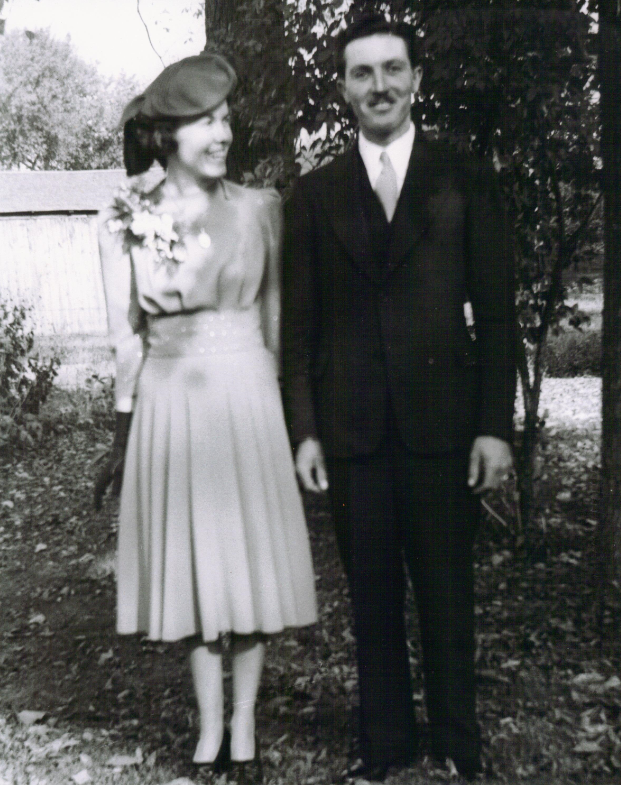Walter Henry Sparks and Ethel Marion Graham Wedding ca. 1939